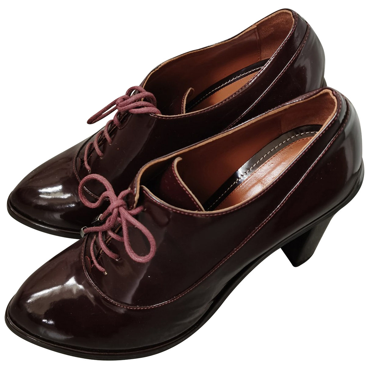 Max & Co \N Red Patent leather Boots for Women 39 IT
