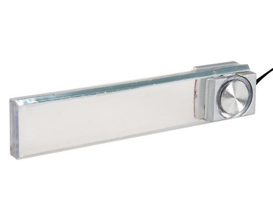 ZY-615 Car Interior LED Lights Decorative Atmosphere Lights 4 LEDs - Transparent