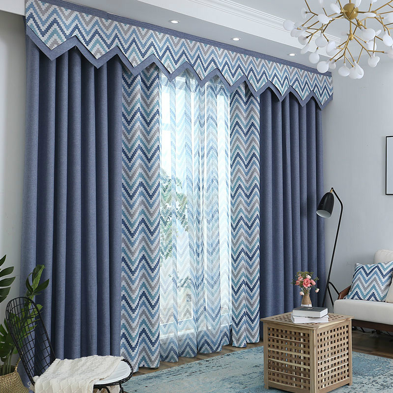 Pastoral Decoration Drapes 2 Panels Curtain Match Sheer Only