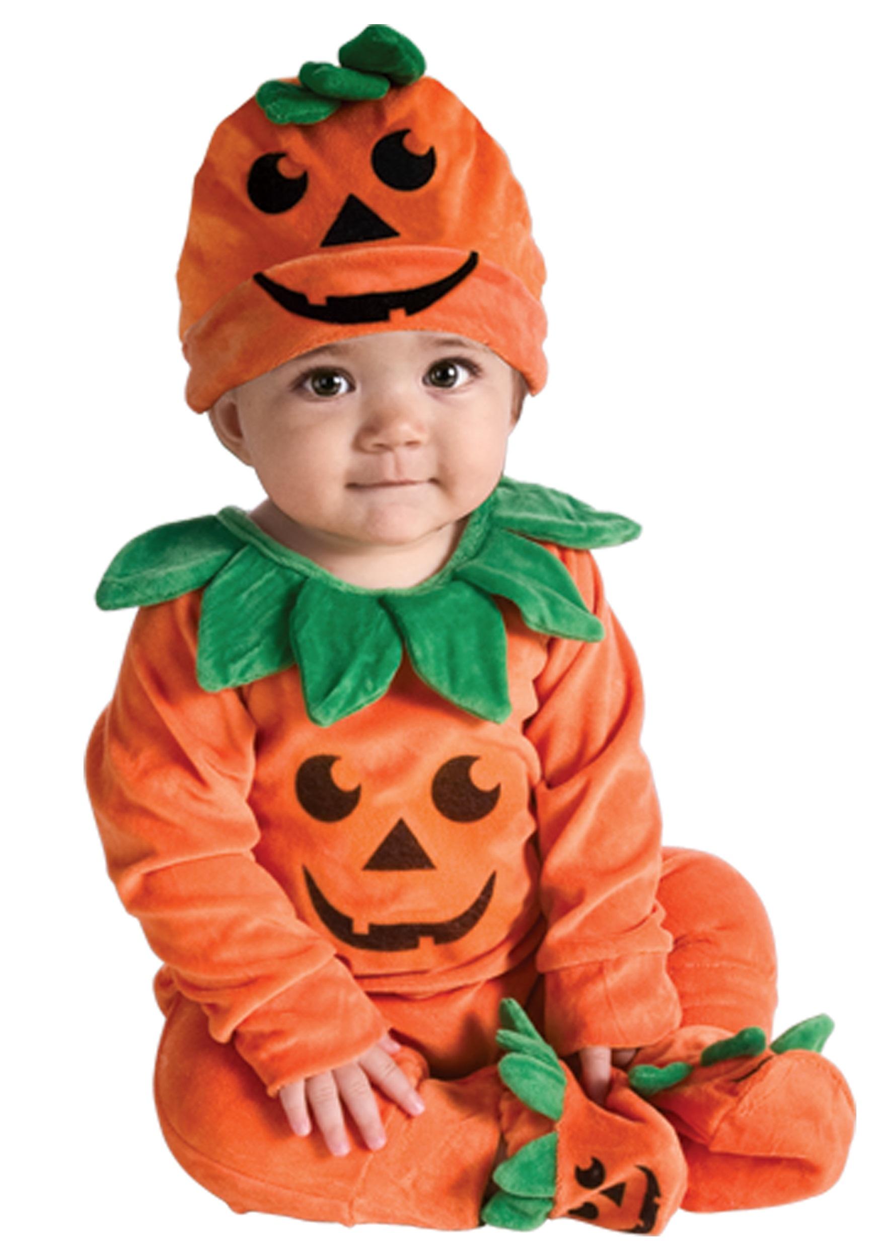 Infant Li'l Pumpkin Onesie Costume