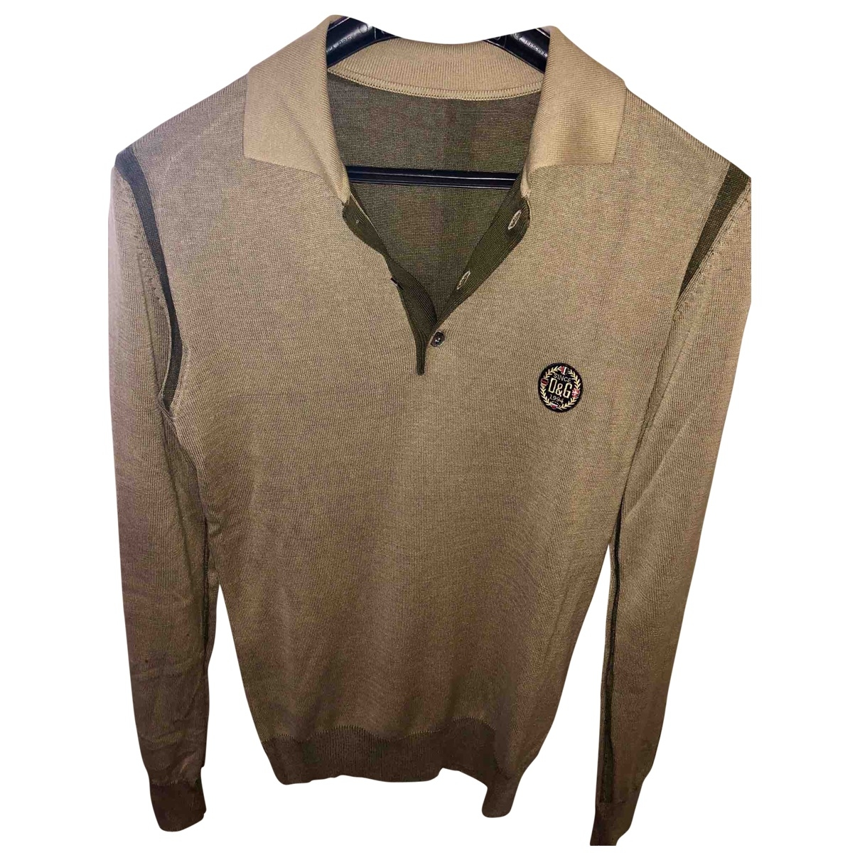 D&g \N Camel Silk Knitwear & Sweatshirts for Men 48 IT