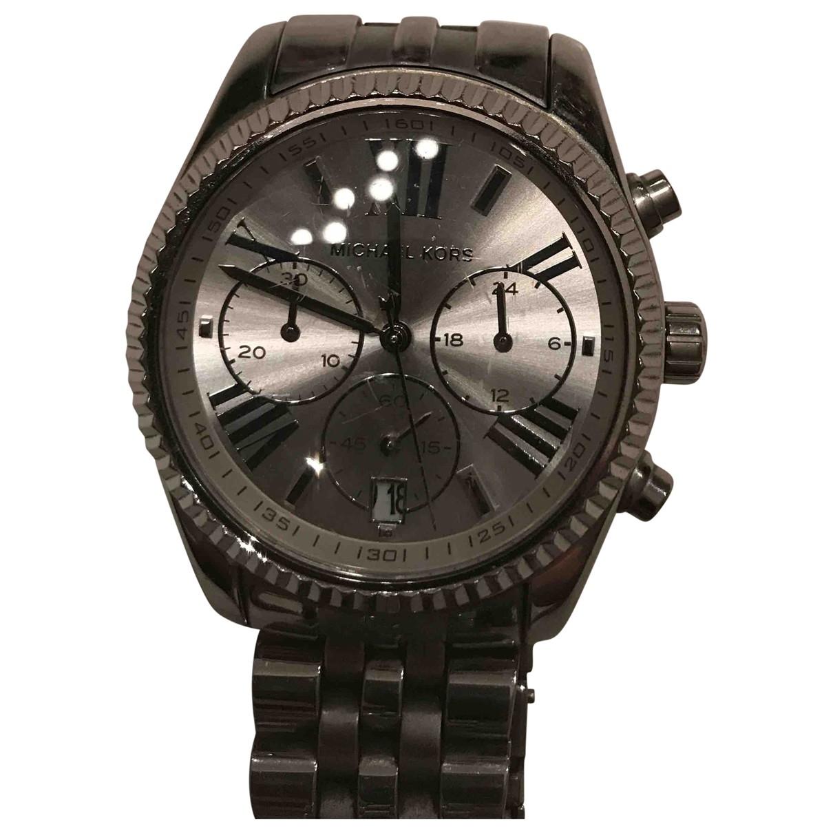 Michael Kors \N Grey Steel watch for Women \N