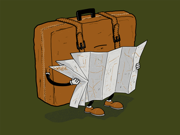 Lost Luggage T Shirt