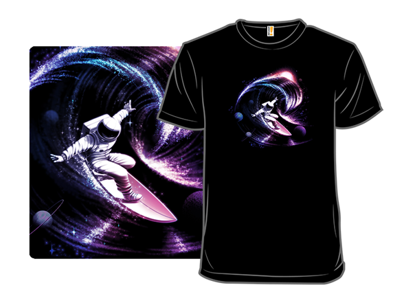 Surfing The Universe T Shirt