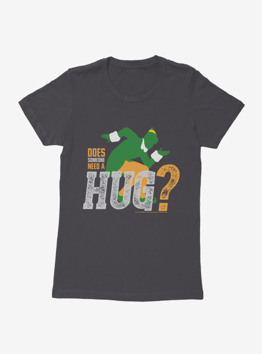 Elf Need A Hug Womens T-Shirt