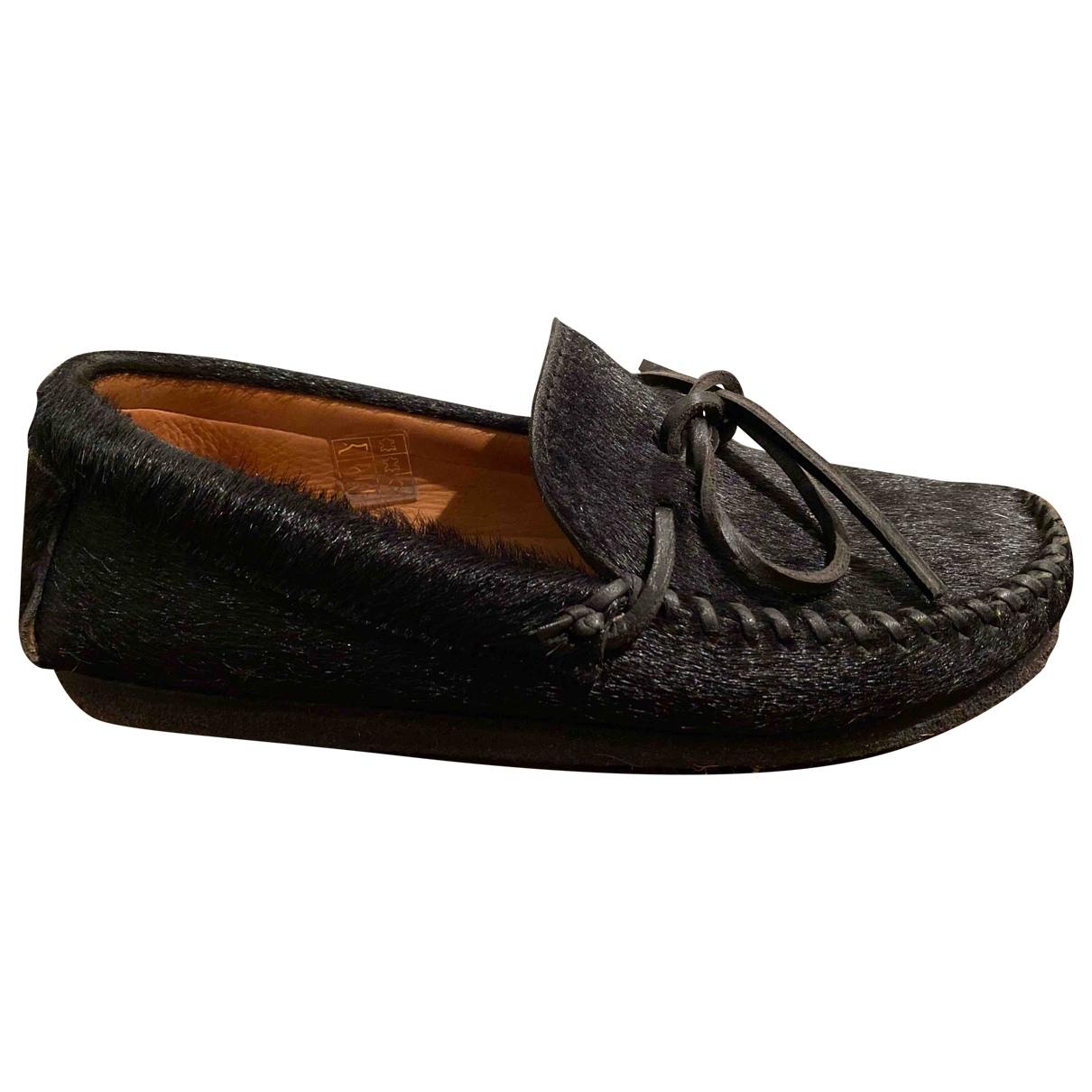 Isabel Marant \N Black Pony-style calfskin Flats for Women 36 EU