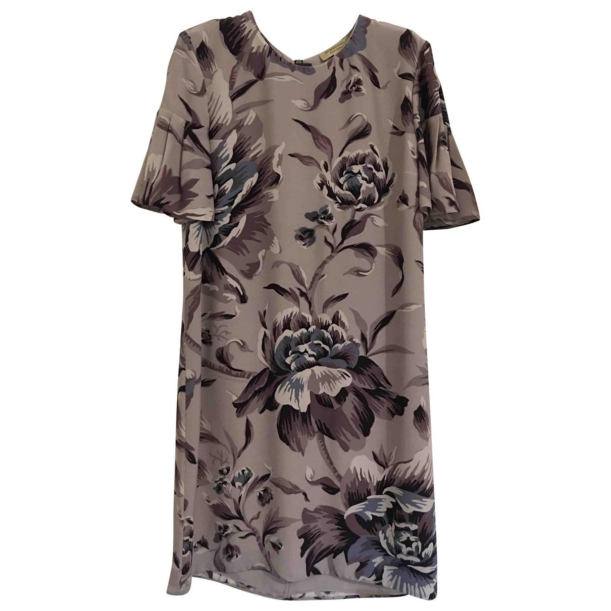 Burberry \N Silk dress for Women 40 IT