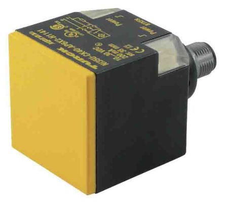 Turck M12 x 1 Inductive Proximity Sensor - Block, PNP/NPN-NO/NC Output, 50 mm Detection, IP68, IO-Link