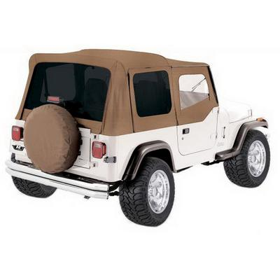 Rampage Factory Replacement Soft Top with Clear Windows and Door Uppers (Spice) - 99617