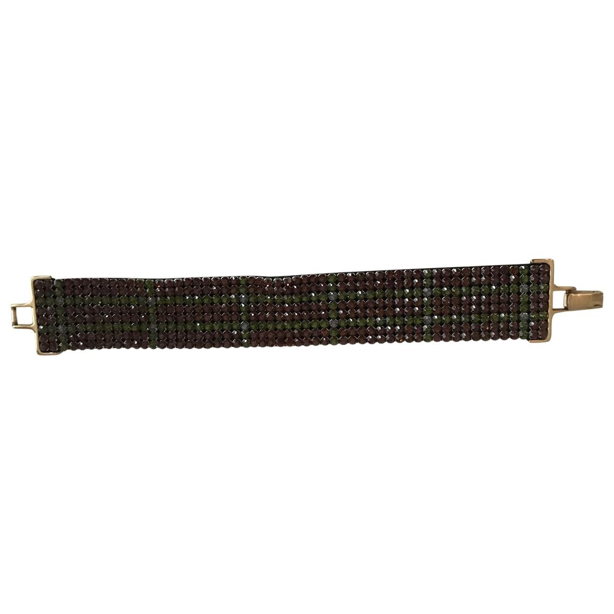 Swarovski \N Green Crystal bracelet for Women \N