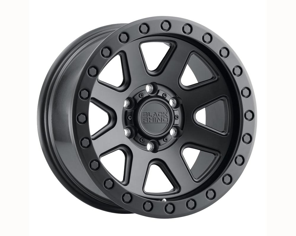 Black Rhino Baker Wheel 20x9 6x139.70 12 Matte Black
