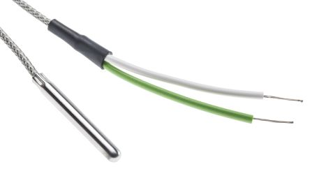 RS PRO Type K Thermocouple 40mm Length, 4.76mm Diameter → +350°C