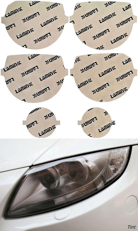 Dodge Challenger 08-14 Tint Headlight Covers Lamin-X D018T