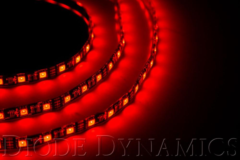 Diode Dynamics DD2203 LED Strip Lights Red 100cm Strip SMD100 WP