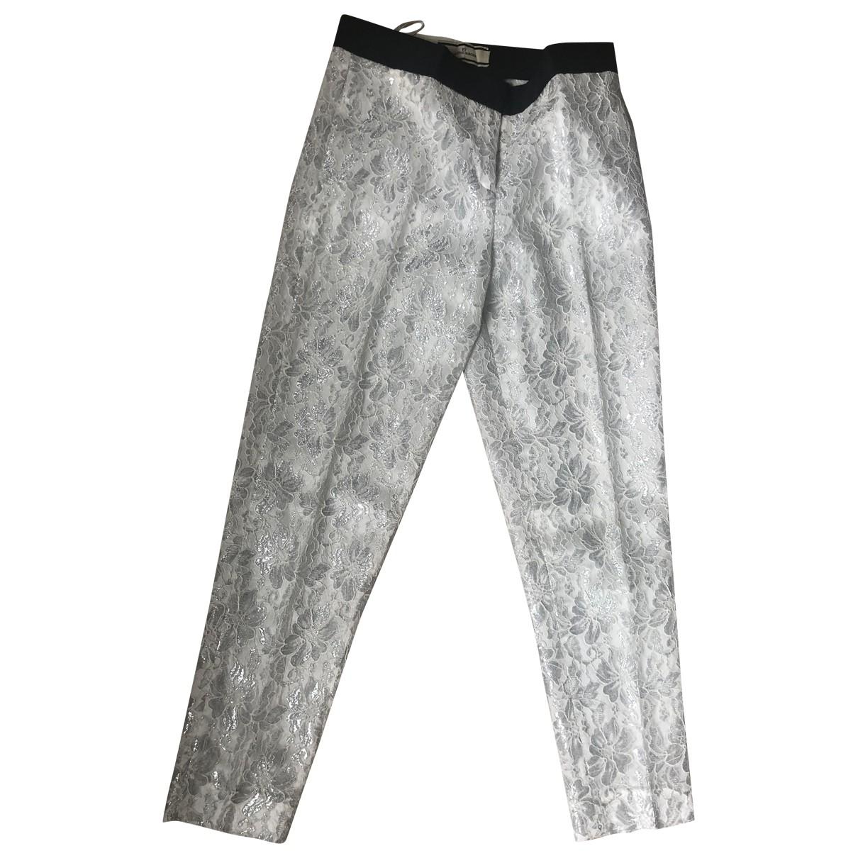 By Malene Birger \N Silver Trousers for Women 34 FR