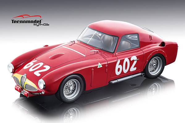 Alfa Romeo 6C 3000 CM 602 J. M. Fangio/ G. Sala 2nd Place 1953 Mille Miglia Mythos Series Limited Edition to 80 pieces Worldwide 1/18 Model Car by Te