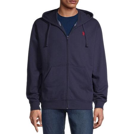 U.S. Polo Assn. Mens Long Sleeve Hoodie, Xx-large , Blue