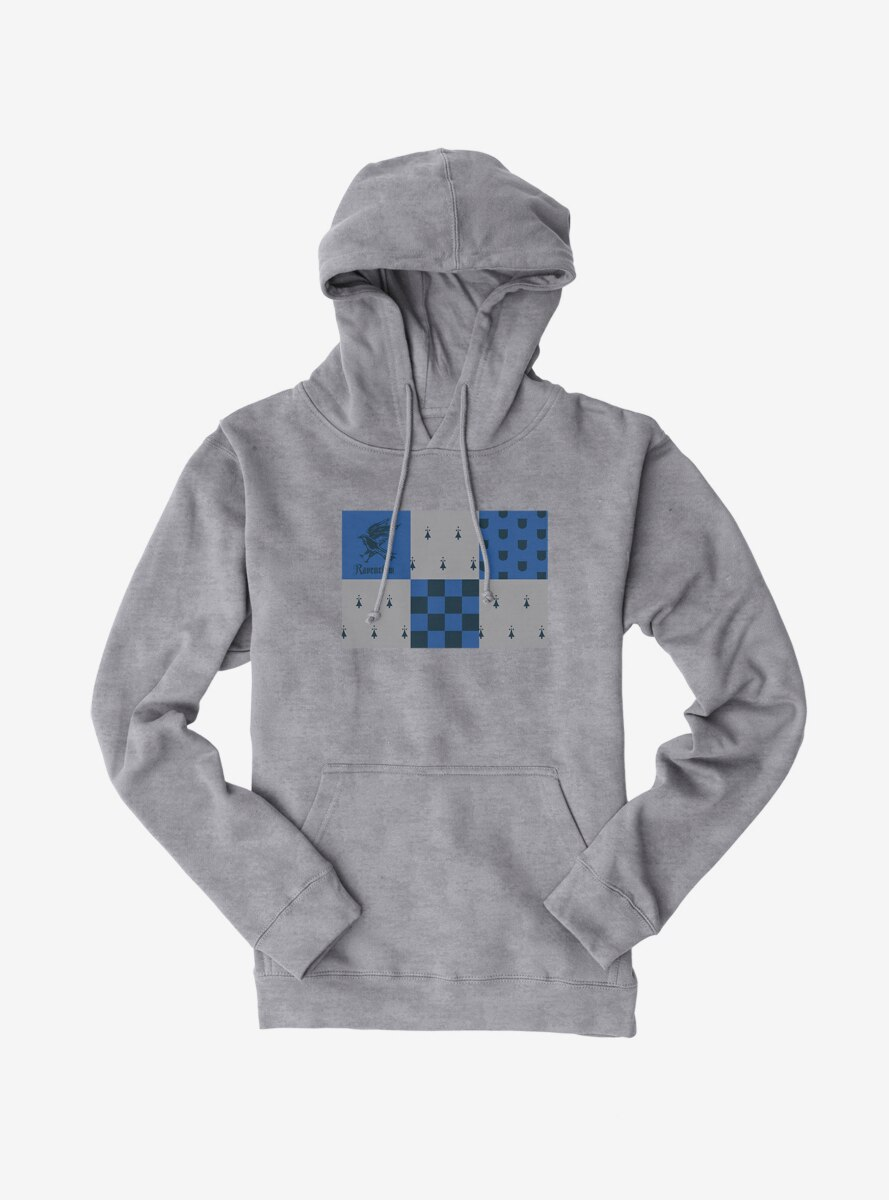 Harry Potter Ravenclaw Checkered Patterns Hoodie