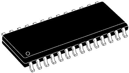 Microchip PIC16C57C-04/SO, 8bit PIC Microcontroller, PIC16C, 4MHz, 2K EPROM, 28-Pin SOIC