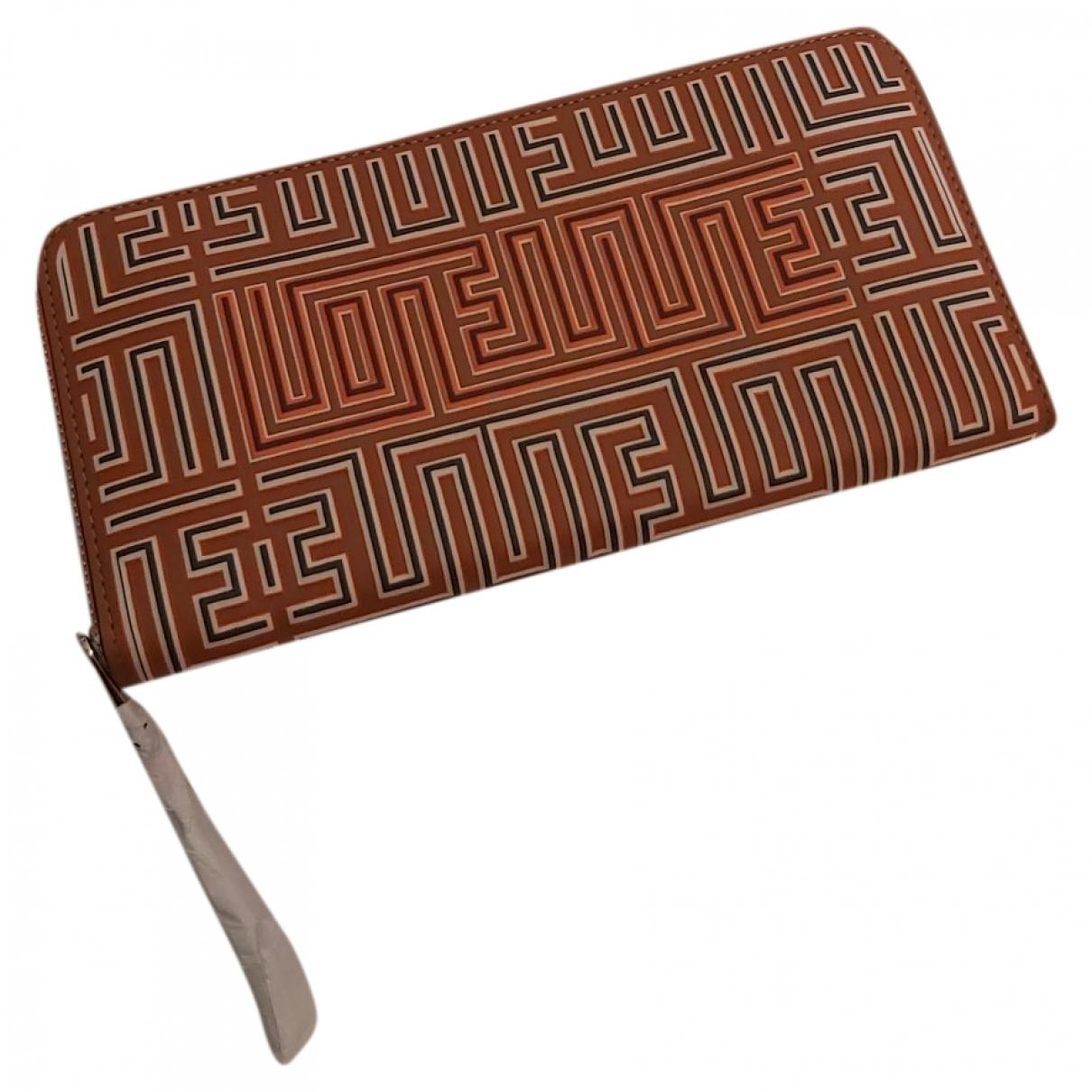 Loewe \N Brown Leather wallet for Women \N