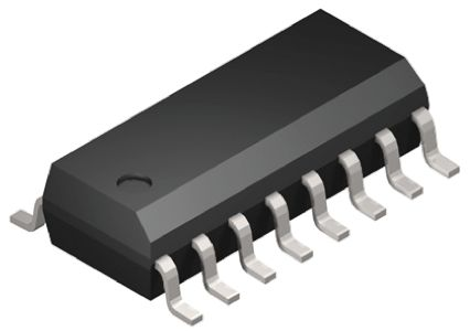 ON Semiconductor MC14569BDWG Dual 4-stage Divide-By-N Counter, Serial/Parallel, , Uni-Directional, 16-Pin SOIC W (5)