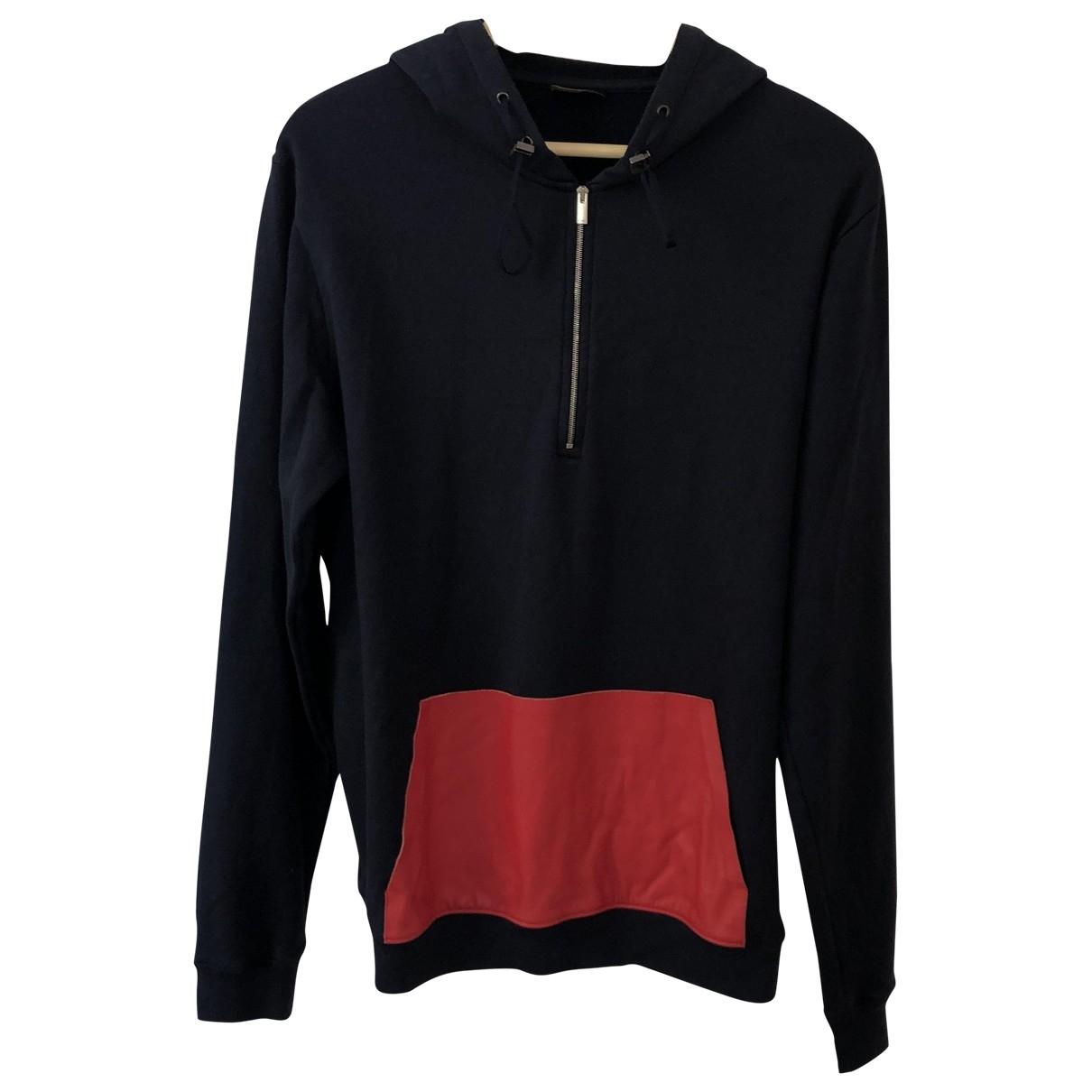 Fendi \N Blue Cotton Knitwear & Sweatshirts for Men 50 IT
