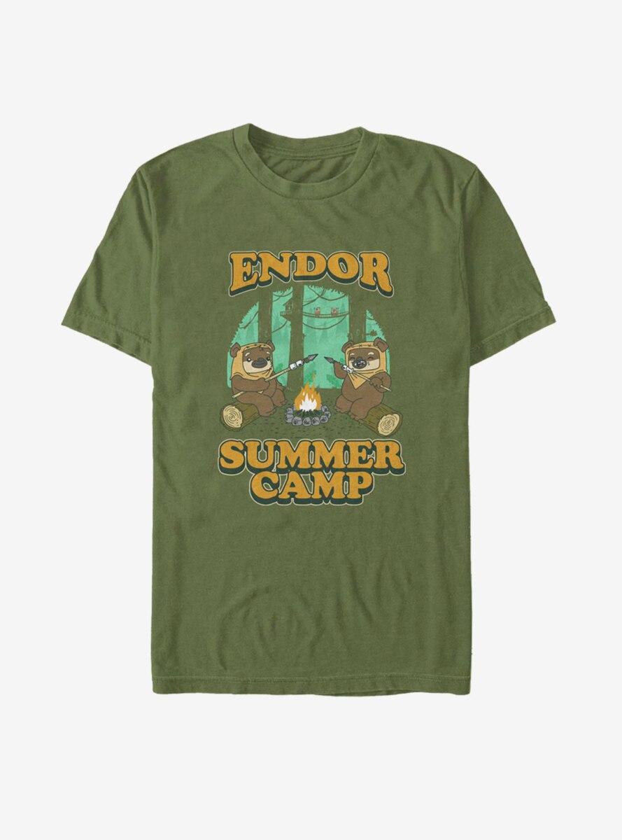 Star Wars Endor Summer Camp T-Shirt