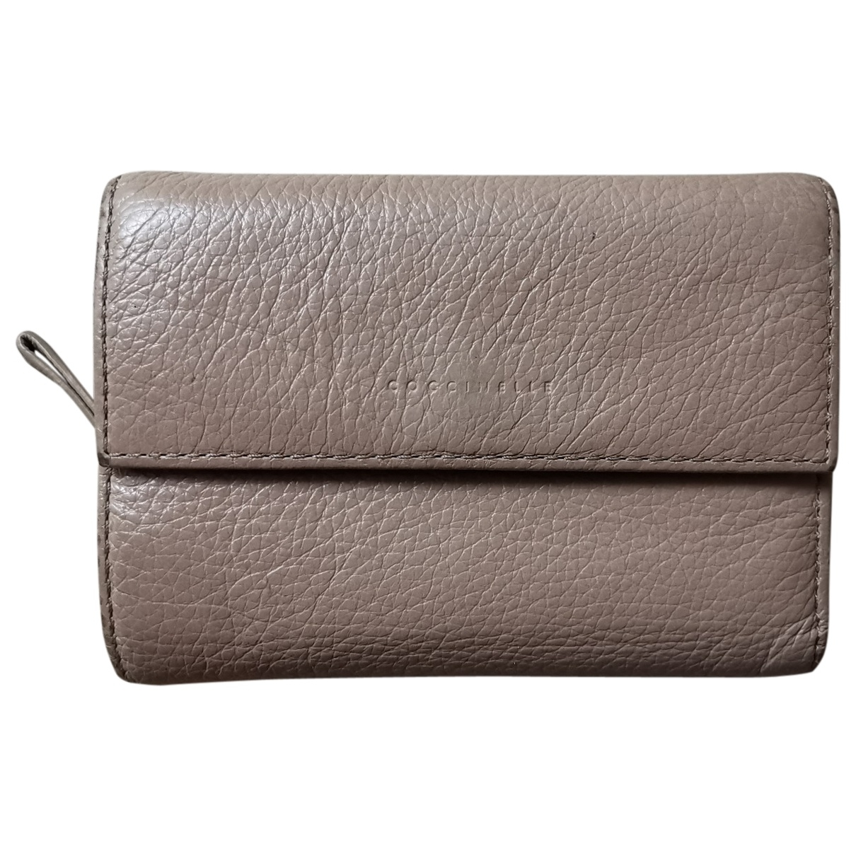 Coccinelle \N Pink Leather wallet for Women \N