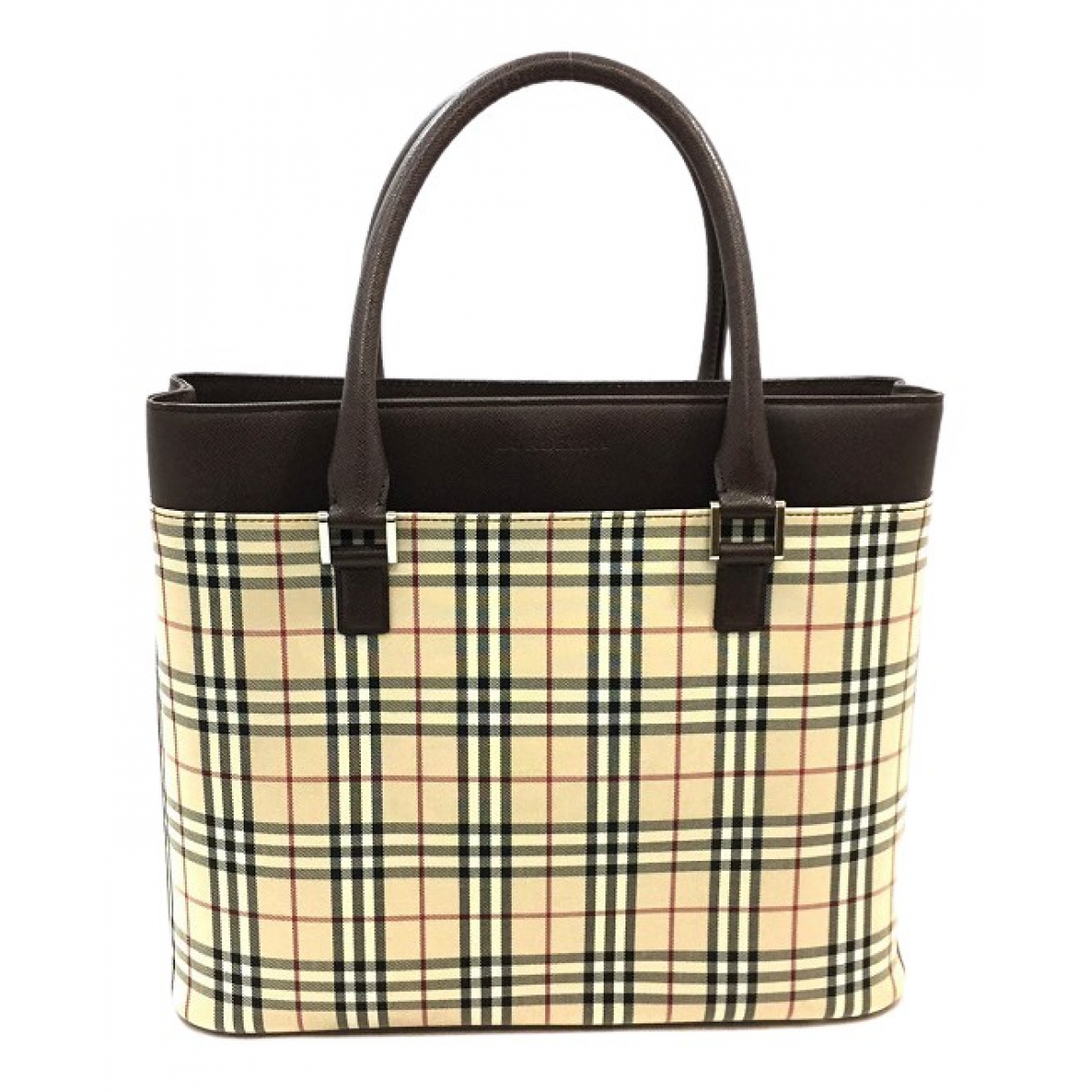 Burberry \N Beige Cloth bag for Men \N