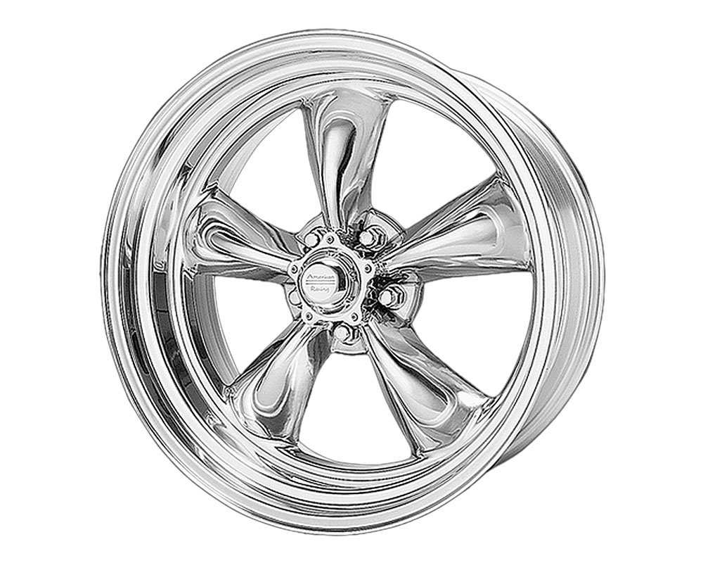 American Racing VN515 Torq Thrust II 1 PC Wheel 17x9.5 5x5x127 +8mm Polished