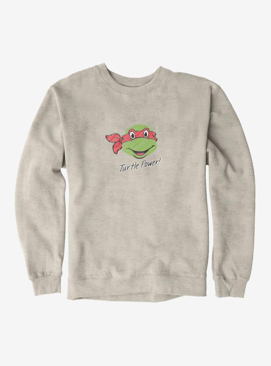 Teenage Mutant Ninja Turtles Chalk Lines Raphael Turtle Power Sweatshirt