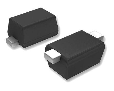 DiodesZetex Diodes Inc, 3V Zener Diode 7% 300 mW SMT 2-Pin SOD-523 (100)