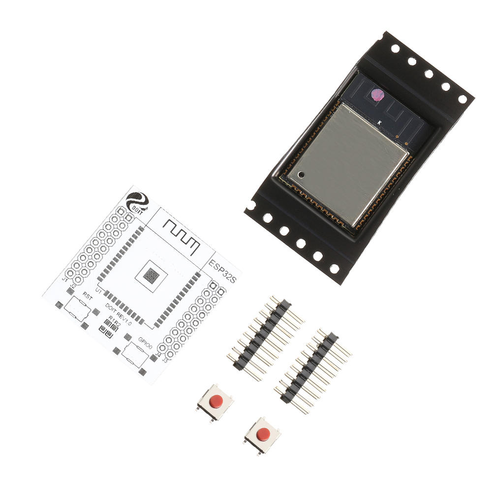 ESP32 ESP-WROOM-32 IoT Wifi WLAN BLE Module+ESP-32S Adapter Pinboard Converter Board