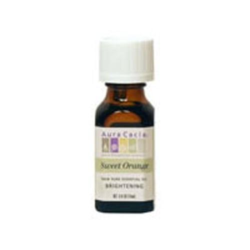 Essential Oil Sweet Orange 0.25 oz by Aura Cacia