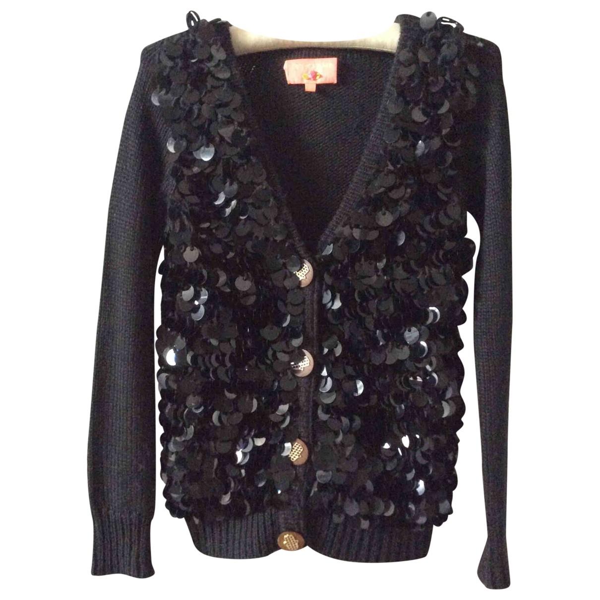 Manoush \N Black Wool Knitwear for Women 36 FR