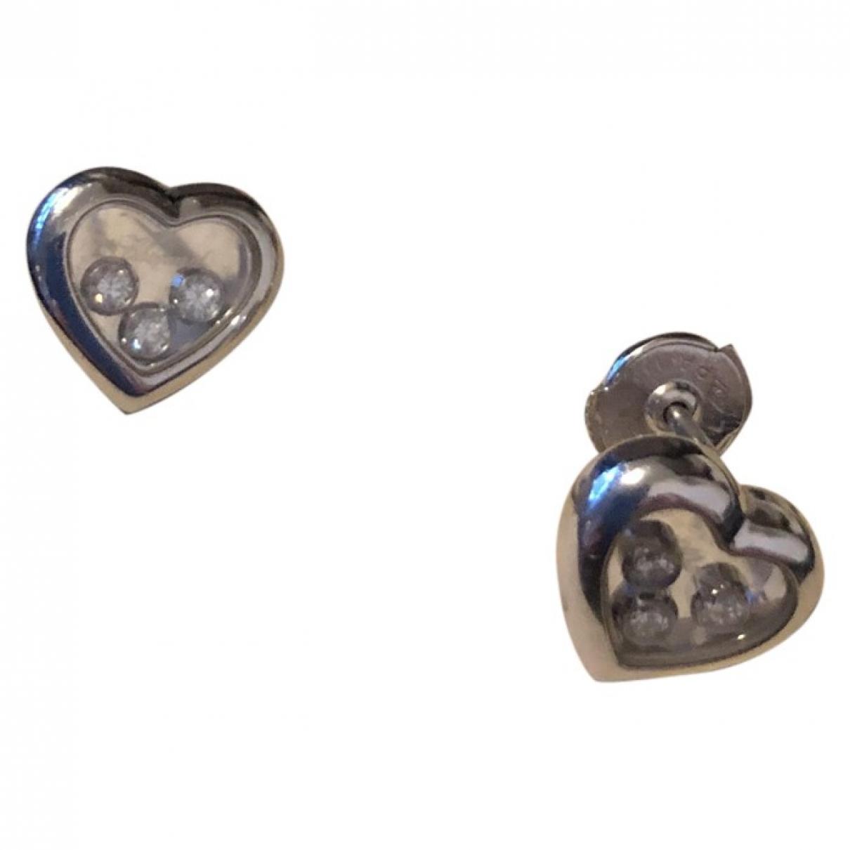 Chopard Happy Diamonds White White gold Earrings for Women \N