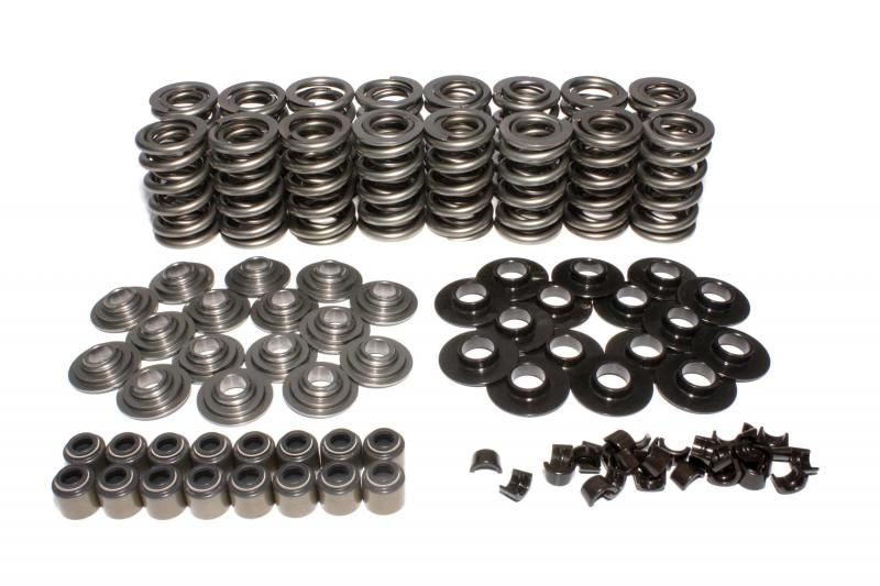 COMP Cams GM LS Dual Valve Spring Kit w/ Tool Steel Retainers; .675