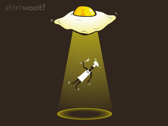 Egg Abduction T Shirt