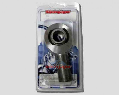 Steinjager J0029006 1 Pack SJ-MXM-16-12 1 inch -12 RH x 0.75 Bore 4130 Chrome Moly Spherical Rod Ends Bearing Bright Chrome Finish