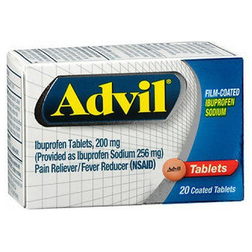 Advil Film-Coated Tablets 20 Tabs by Advil