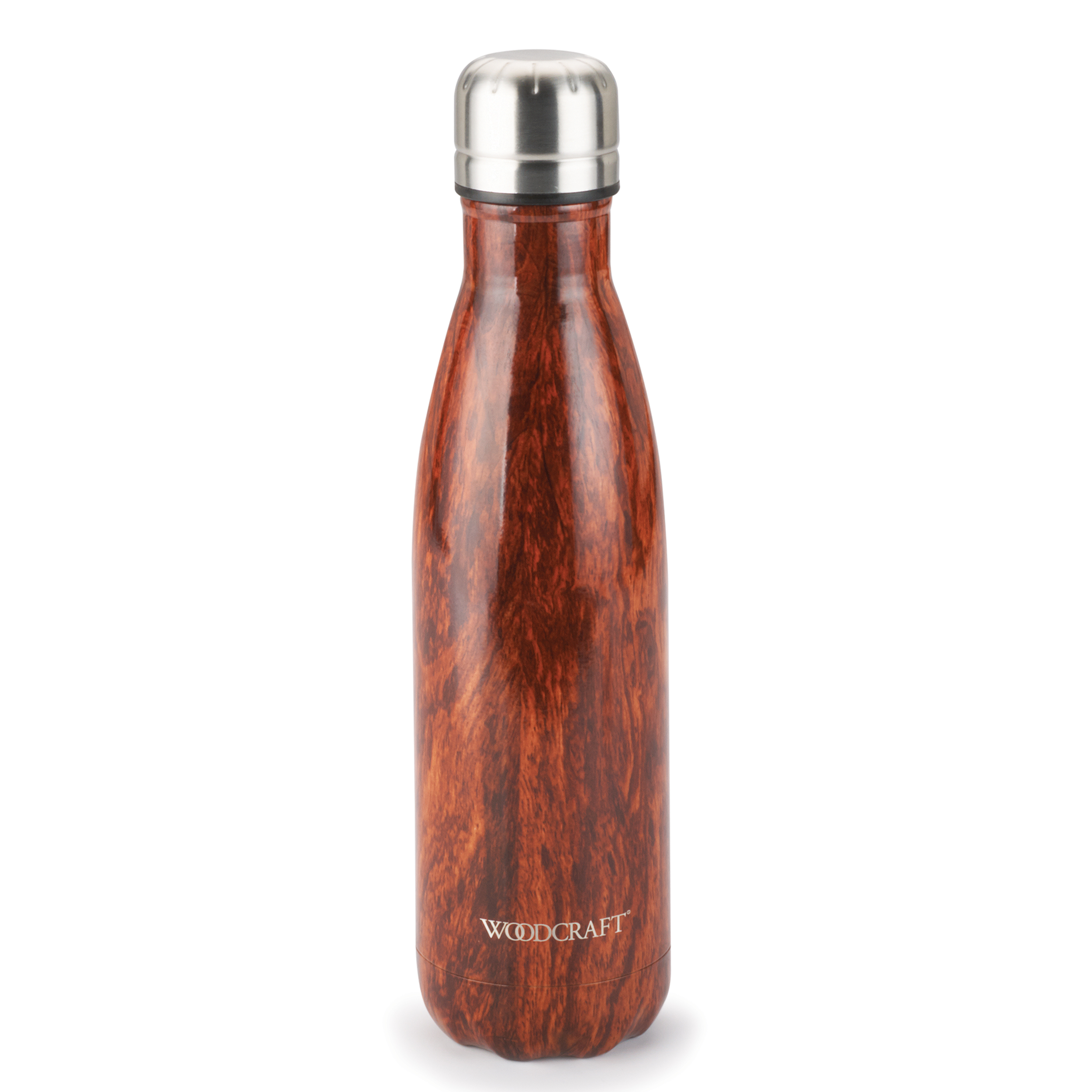 Woodcraft Woodgrain 17-ounce Water Bottle