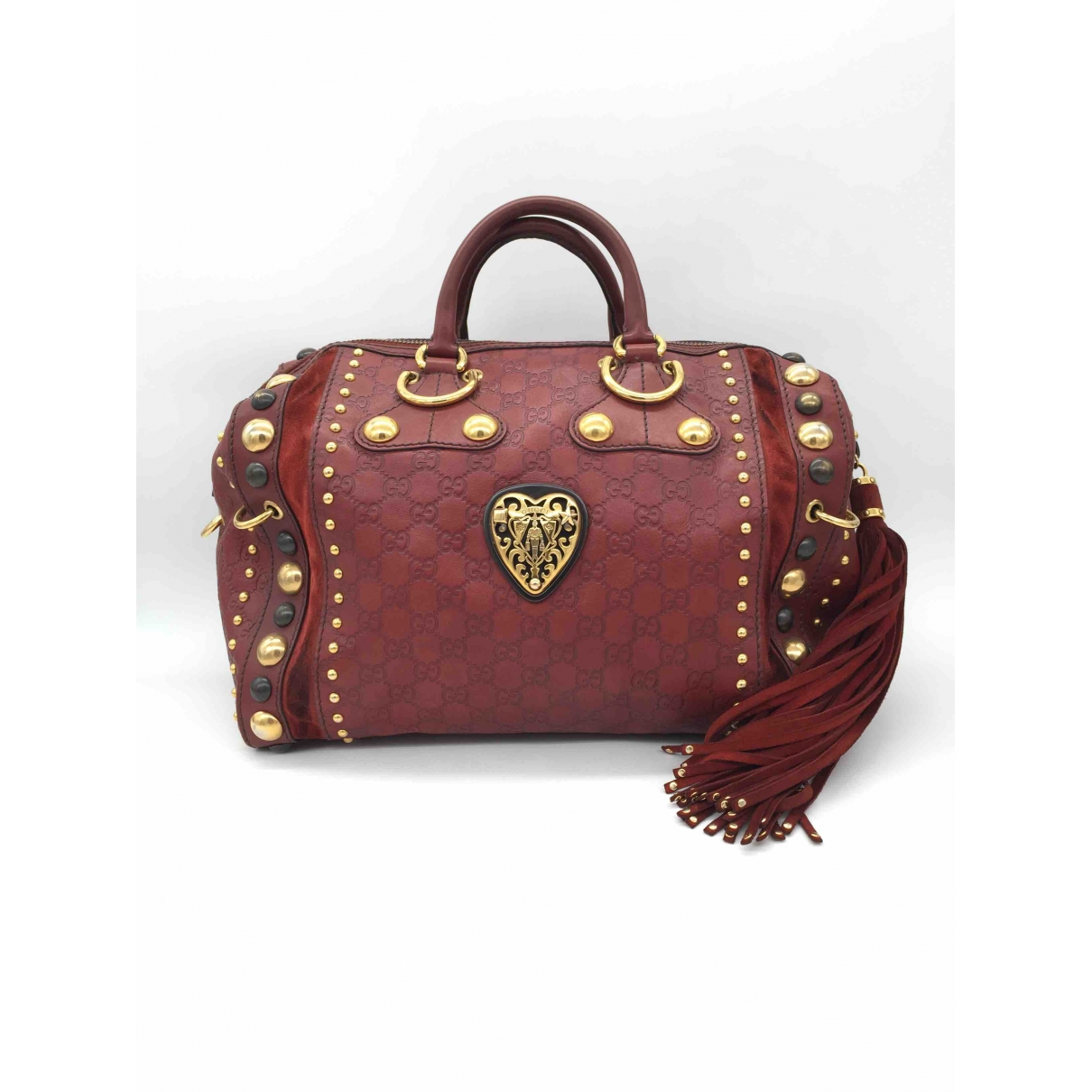 Gucci \N Red Leather handbag for Women \N