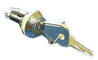 Lorlin IP66, IP67 Keylock Switch, Single Pole Single Throw (SPST), 1 A @ 115 V ac 3-Way, -20 → +65°C