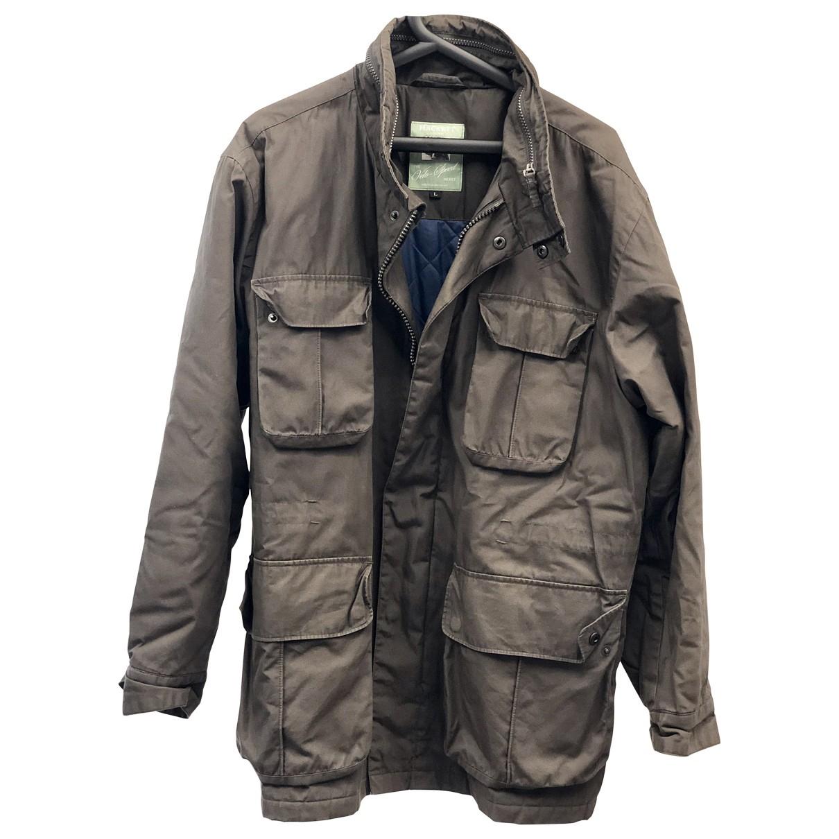 Hackett London \N Green coat  for Men XL International