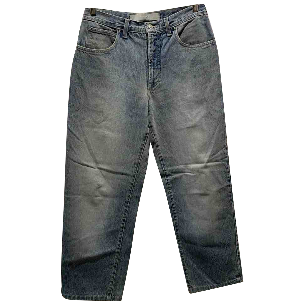 Versace Jeans \N Blue Cotton Jeans for Men 31 US