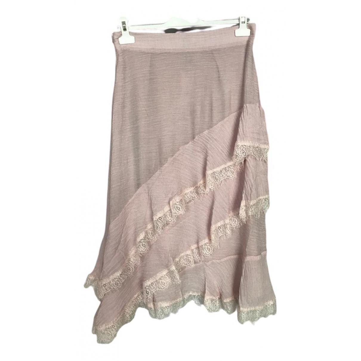 Brigitte Bardot \N Pink skirt for Women 38 FR