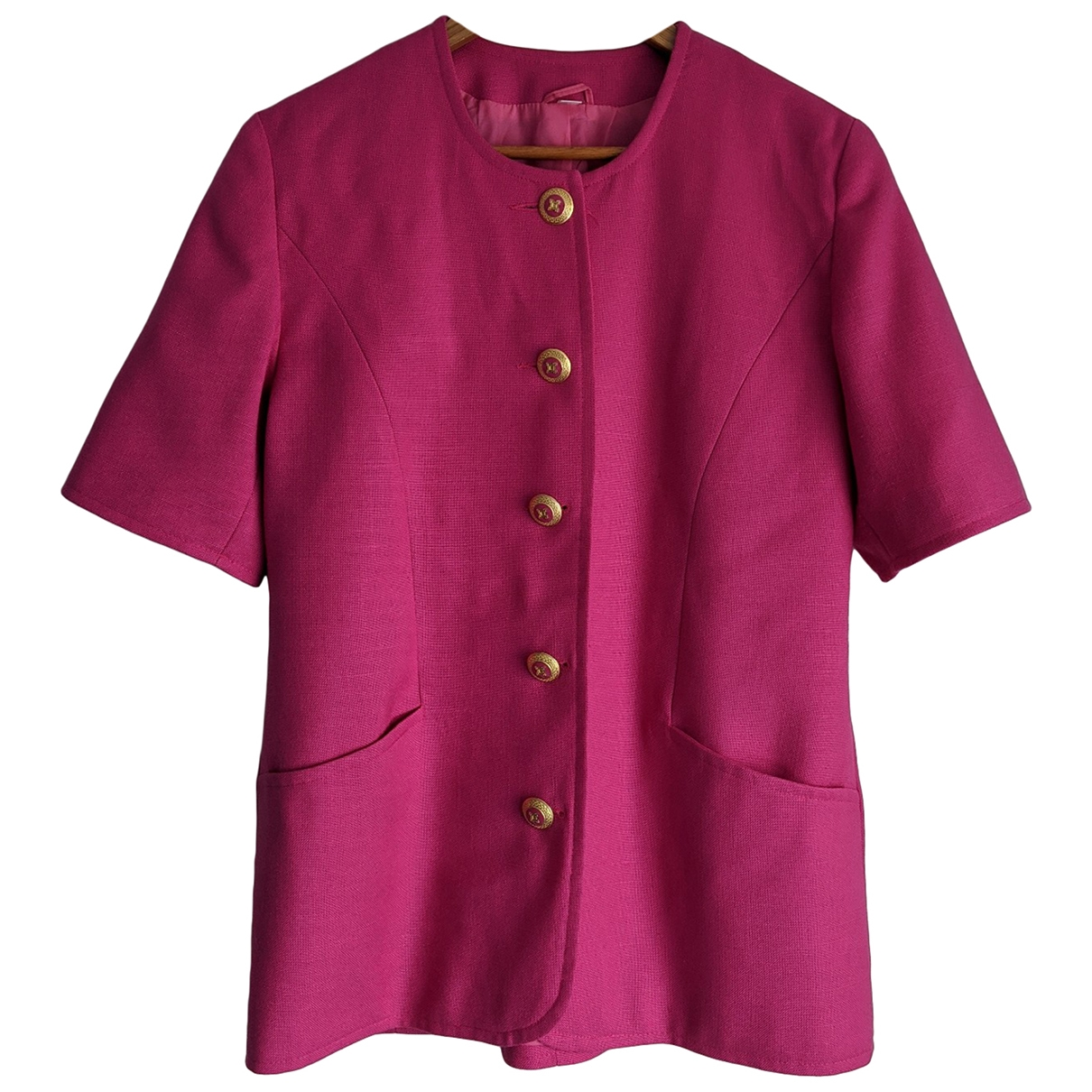 Non Signé / Unsigned \N Pink jacket for Women 12 UK