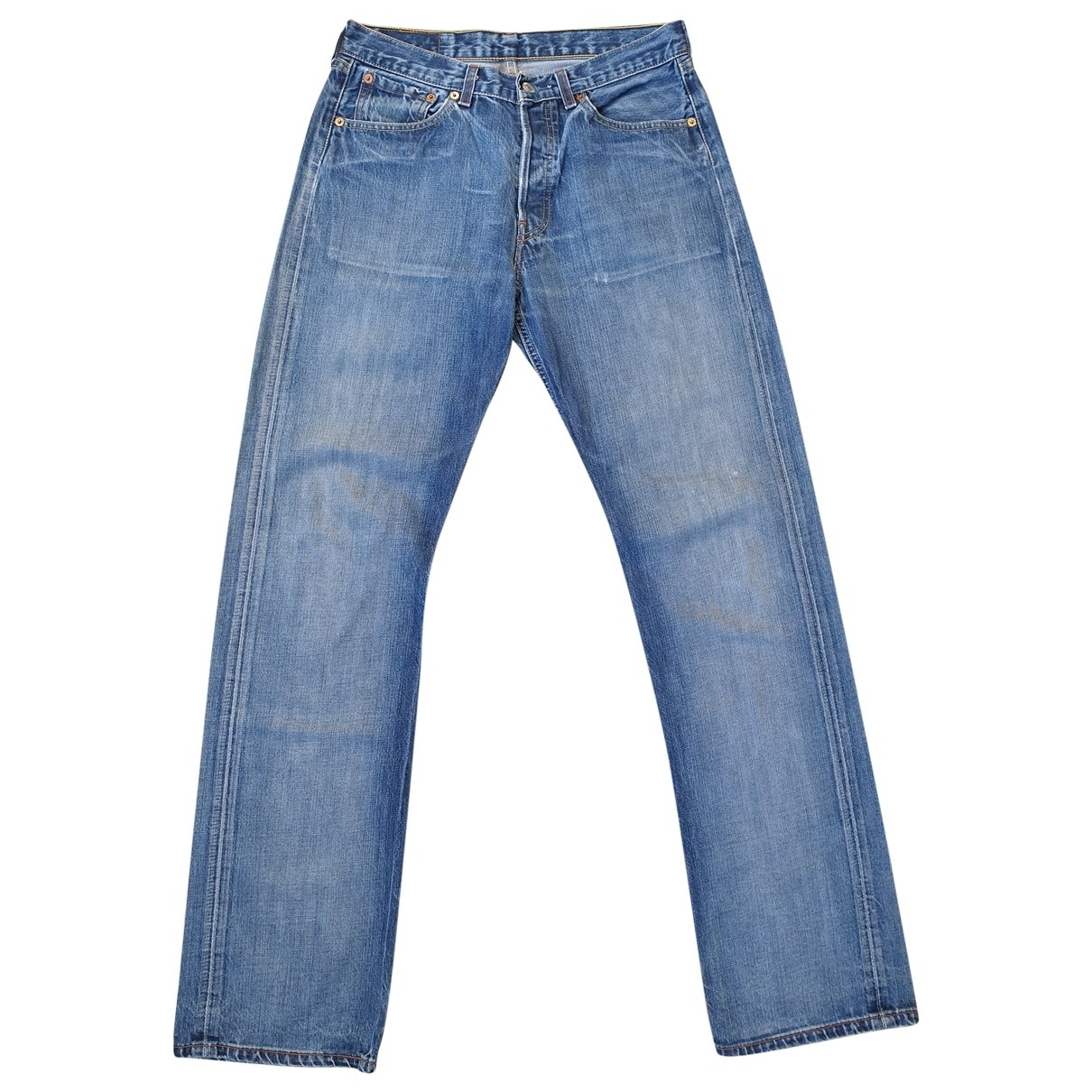 Levi's 501 Blue Denim - Jeans Jeans for Women 31 US