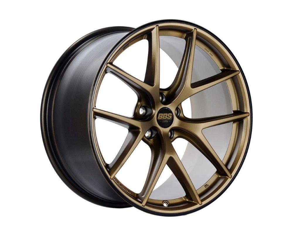 BBS CI-R Wheel 19x8.5 5x112 45mm Satin Bronze | Black Rim