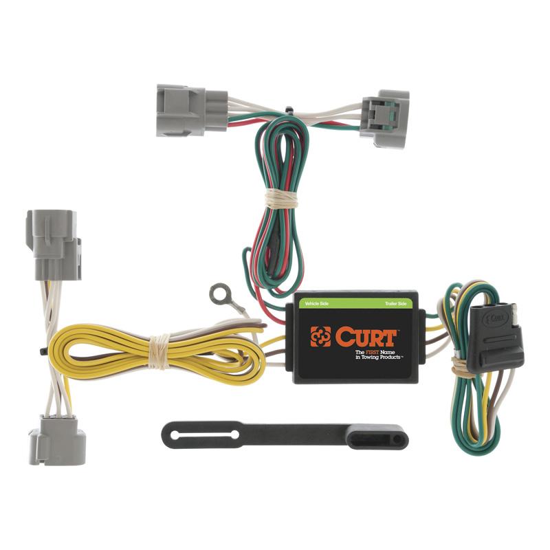 Curt 55513 Custom Wiring Harness (4-Way Flat Output)
